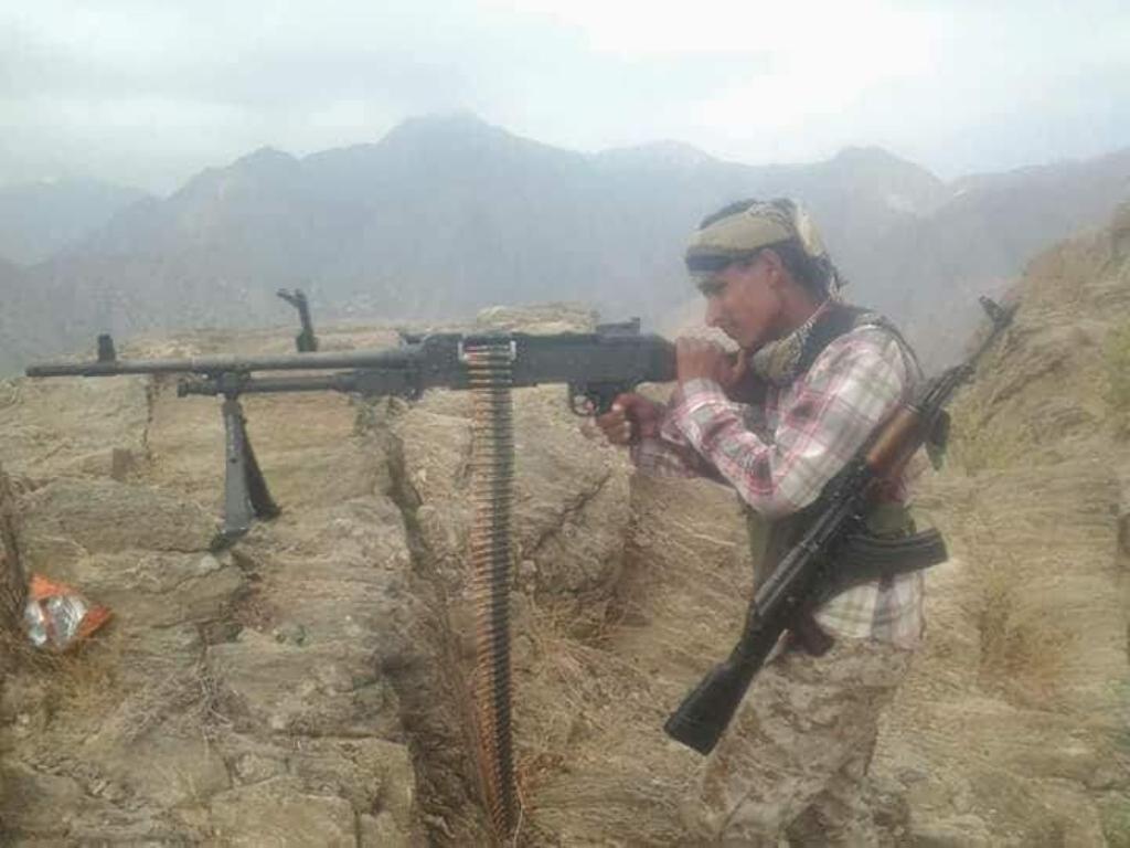 قوات الجيش الوطني تستعيد مواقع في مديرية القبيطة