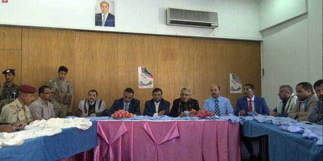 فريق اللجنة الوطنية للتحقيق في ادعاءات انتهاكات حقوق الانسان يلتقي قيادات اقليم تهامة