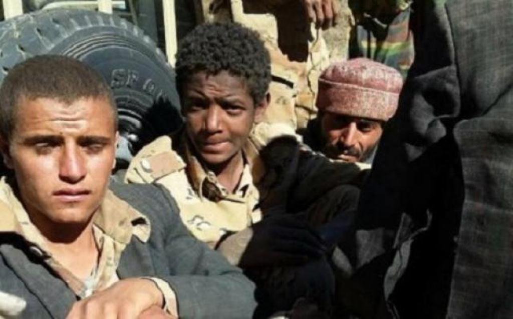 حوثيون يسلمون أنفسهم لقوات الجيش الوطني و40 جثة للمليشيات لا تزال مرمية في شعاب مديرية ناطع