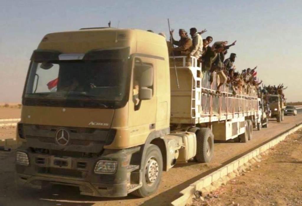 مصادر تكشف تحرك أربعة ألوية عسكرية بإتجاه هاتين المحافظتين