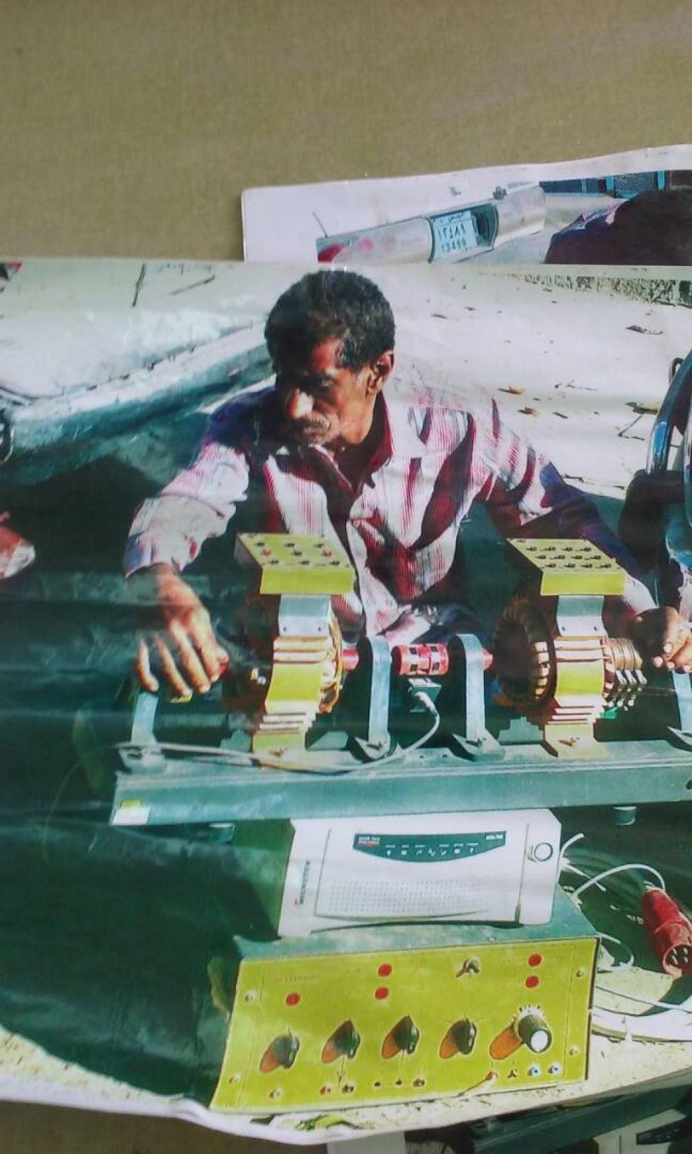 """مهندس يمني يتمكن من اختراع """"مولد كهربائي"""" يعمل بدون وقود.. تقاصيل"""