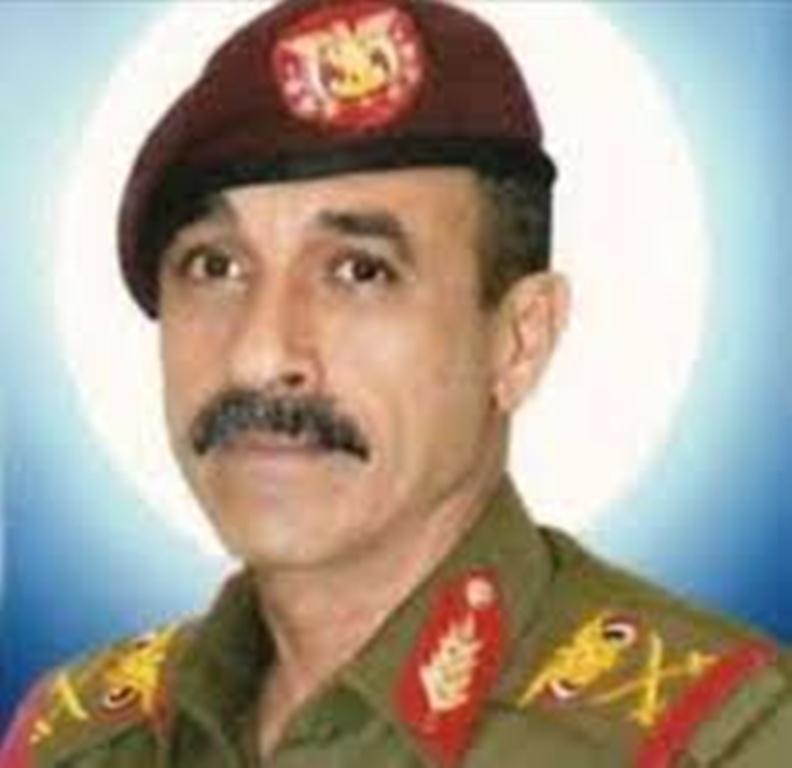"""وصول اللواء """"علي صالح الاحمر"""" شقيق الرئيس السابق إلى مدينة مأرب"""