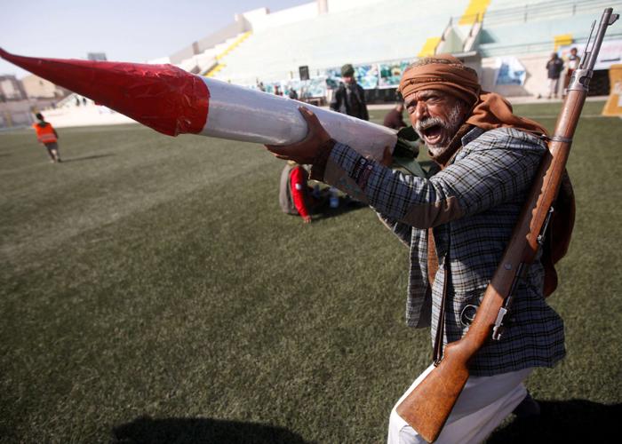 مليشيا الحوثي تتلقى ضربة جوية  مباغته في أحد مراكزهم القيادية