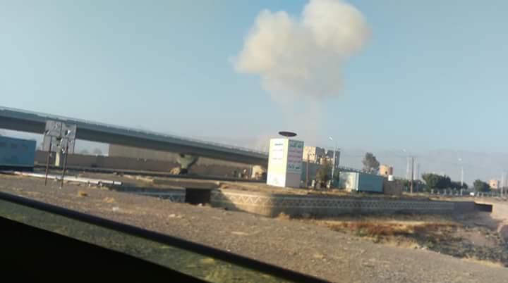طيران التحالف العربي يشن غارة جوية على العاصمة صنعاء (صورة)