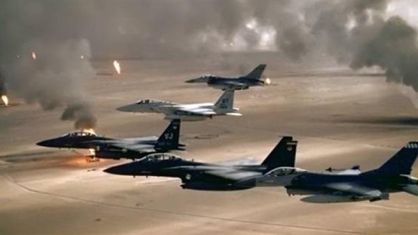 طيران التحالف العربي يقصف أهدافا للمليشيا في عمق محافظة صعدة