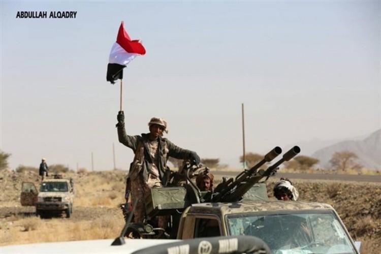 قوات الجيش الوطني تستعيد جبل الحمام بمديرية القبيطة في محافظة لحج