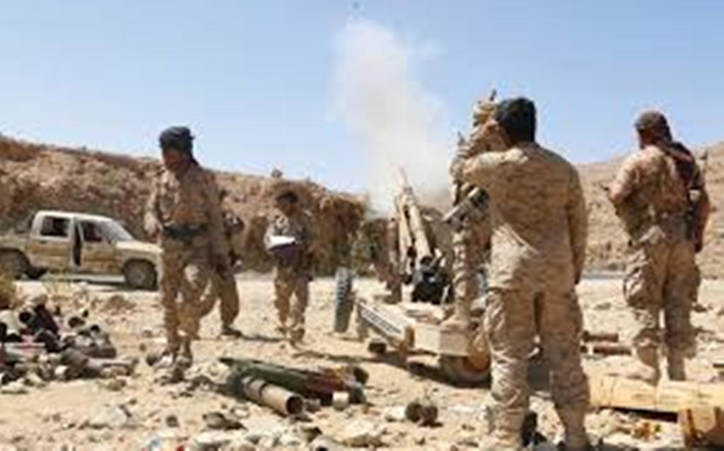 قوات الجيش الوطني تسيطر على مواقع جديدة في مديرية خب والشعف وتتوغل في مديرية برط العنان بالجوف