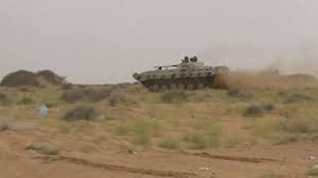 قوات الجيش الوطني تحبط هجوم عنيفا للمليشيات على مواقعها في جبهة ميدي