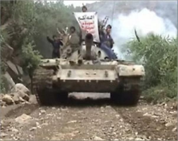 هام.. مؤسسة استخباراتية امريكية تكشف عن نقل الحوثيون الاسلحة الثقيلة الى هذه المحافظة.. تفاصيل
