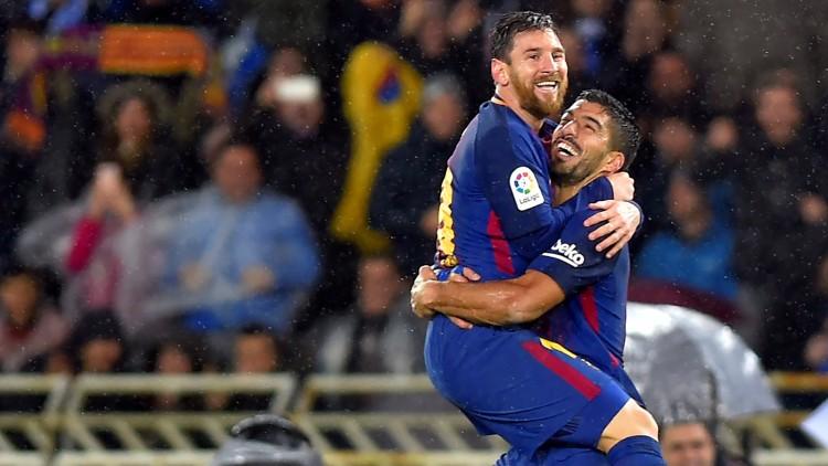 برشلونة يقلب الهزيمة إلى فوز كبير امام سوسيداد
