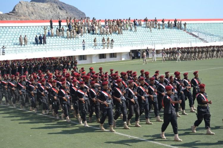 عدن.. تدشين العام التدريبي الجديد في الوية الحماية الرئاسية