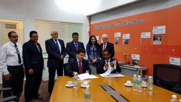الملحقية الثقافية في ماليزيا توقع إتفاقية تبادل مشترك مع كلية FTSM Global الماليزية