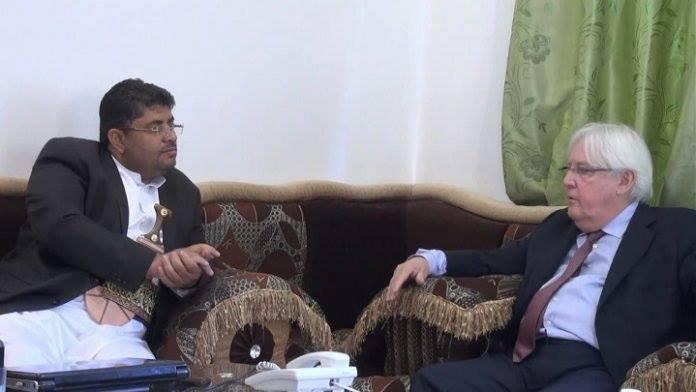 """مصدر حكومي: الحوثيون يبدأون التحرك لإفشال خطة المبعوث الاممي """"غريفيث"""""""