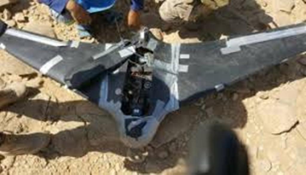 قوات الجيش الوطني تسقط طائرة إستطلاعية تابعة للمليشيات في تعز
