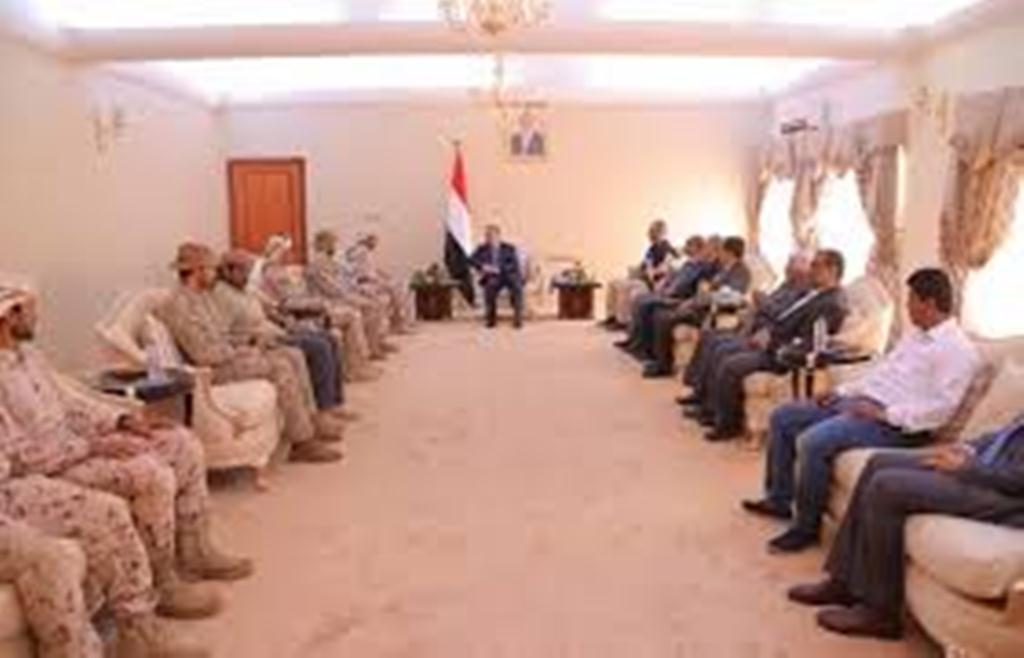 بعد تصعيد مرتقب لما يسمى بالمجلس الإنتقالي الحكومة والتحالف يؤكدون على رفض كافة أشكال الفوضى والعنف في عدن