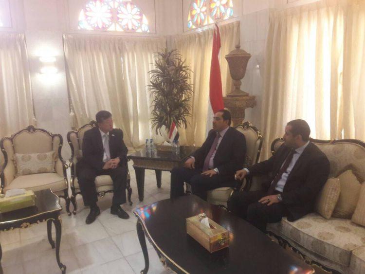 اليمن تبحث مع الصين سبل تطوير العلاقات في مجال الشباب والرياضة