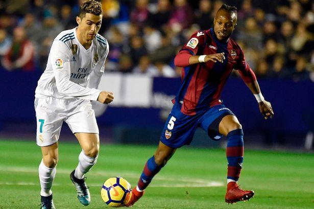 ريال مدريد يتعثر من جديد بالتعادل امام ليفانتي في الدوري الاسباني