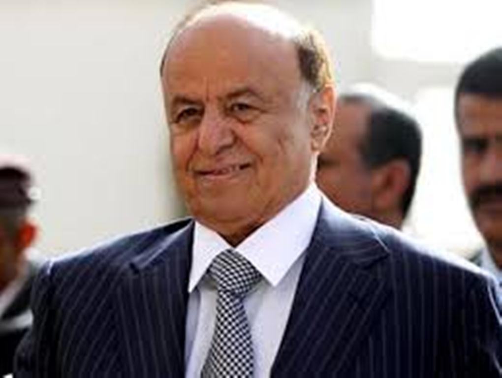 الرئيس هادي يطلع على التطورات الميدانية في جبهات الساحل الغربي