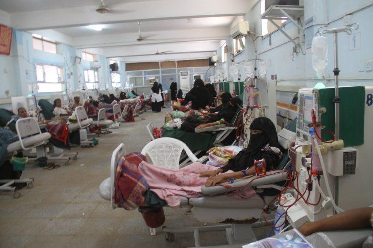 آلاف مرضى الفشل الكلوي يواجهون خطر الوفاة في اليمن