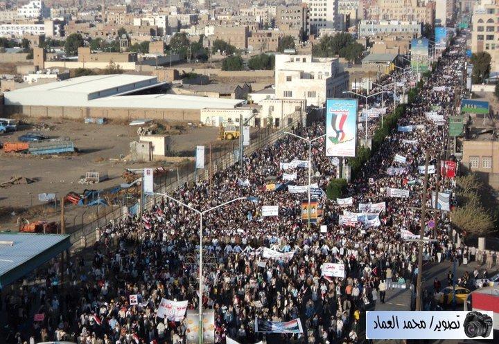 غياب الاحتفالات بثورة فبراير في صنعاء يؤكد من شكوك ارتباط الحوثيين بها