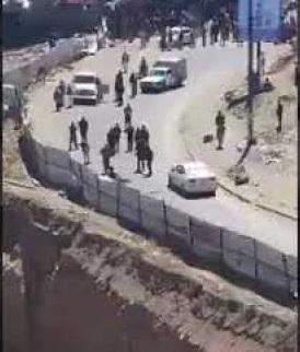 شاهد فيديو يوثق لحظة تفجير انتحاري لنفسه في مذبح يالعاصمة صنعاء اليوم الاثنين