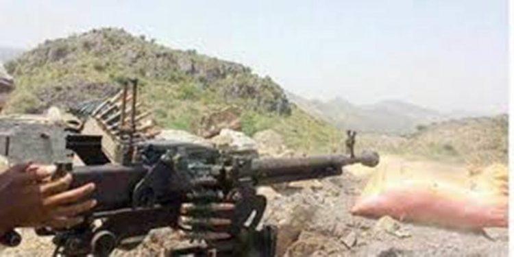 قوات الجيش الوطني تفشل هجوما للمليشيات في مديرية حيفان بمحافظة تعز