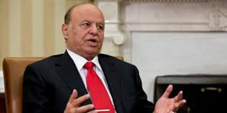 هادي يرفض إقالة مسؤولين بارزين في الحكومة بناء على طلب تقدمت به الامارات