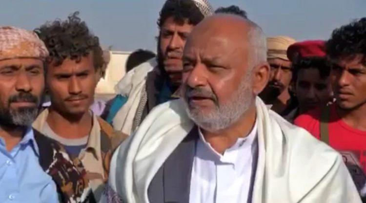 المحافظ الحسن طاهر يناقش مع جمعية النور أوضاع ومشاكل الاسر النازحة من الحديدة