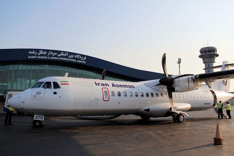انباء عن مقتل 66 شخصاً في سقوط طائرة ايرانية