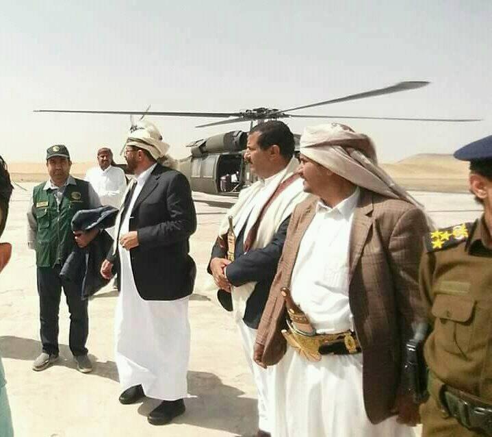المحافظ العرادة يعود إلى مأرب بعد زيارته للسعودية