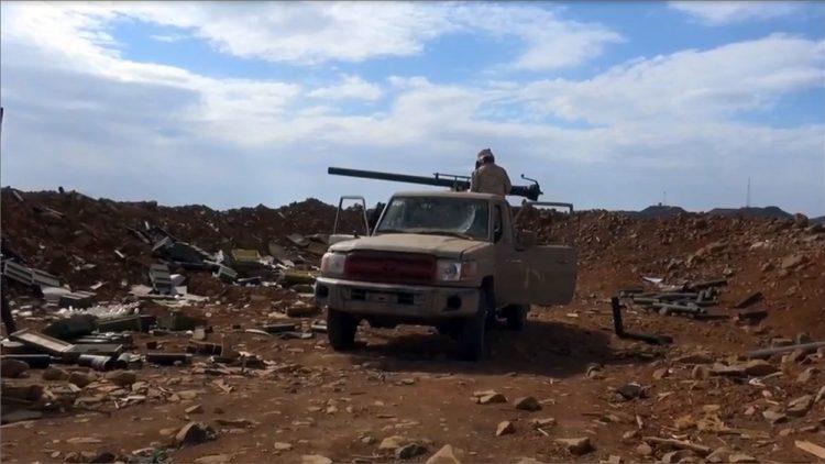 قوات الجيش الوطني تستعيد السيطرة على مواقع في مديرية باقم بمحافظة صعدة
