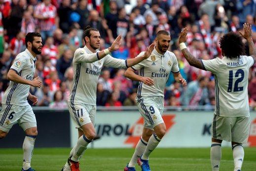 تشكيلة ريال مدريد في مباراته امام ألافيس