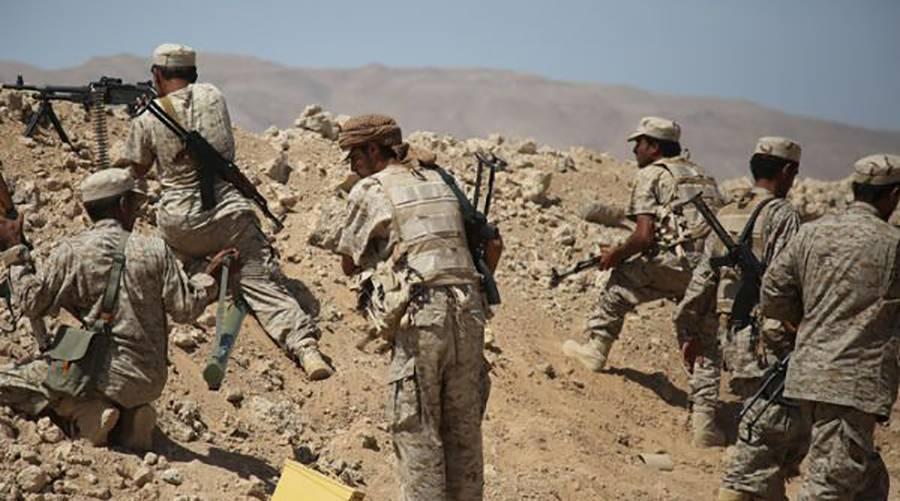 قوات الجيش الوطني تشن هجومًا واسعًا على مواقع مليشيا الحوثي في الجوف