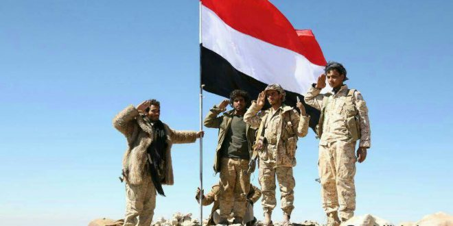 قوات الجيش الوطني تحزر تقدم في جبهة نهم