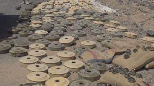 مقتل وإصابة 10 حوثيين بانفجار شبكة ألغام أثناء محاولتهم زراعة شبكات جديدة غرب تعز