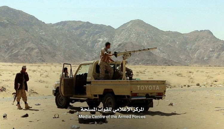 مصرع 3 من عناصر مليشيا الحوثي أثناء تسللهم في جبهة صرواح محافظة مأرب