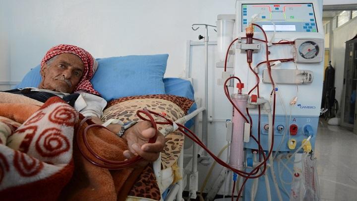 اللجنة الدولية للصليب الاحمر: 1 من كل 4 يمنيين مصابين بالفشل الكلوي يموتون