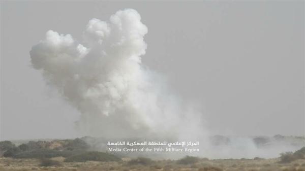 طيران التحالف العربي يشن غارات مكثفة على مواقع مليشيا الحوثي في جبهتي حرض وميدي