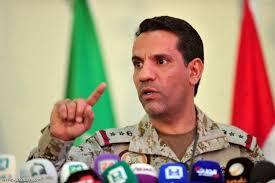 المتحدث باسم التحالف العربي يؤكد تعرض إحدى طائرات التحالف لإطلاق صاروخ من صعدة