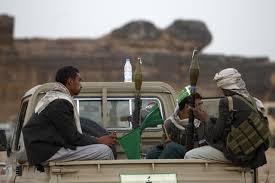 مليشيا الحوثي تقوم بقصف منازل المواطنين في مديرية القريشية بمحافظة البيضاء
