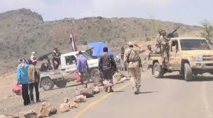 أمن الضالع يضبط ما يقارب 100 ضابط وجندي من الحرس الجمهوري كانوا في طريقهم إلى معسكرات طارق في عدن