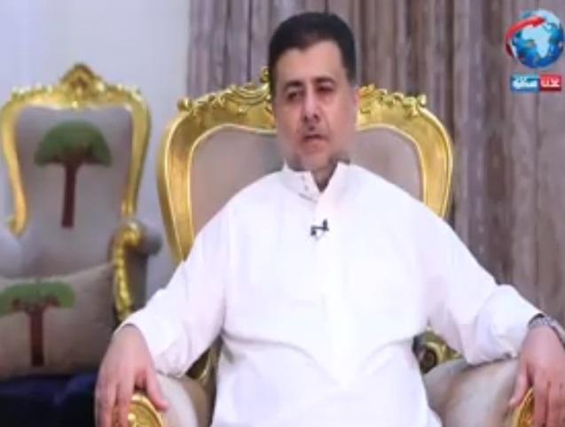 الشيخ أحمد صالح العيسي يعزي الحاج محمد علي العيسي في استشهاد نجله