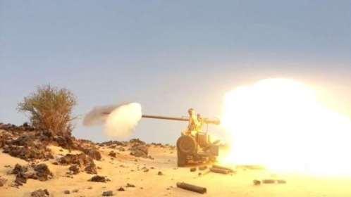 صرواح.. الجيش الوطني يتصدى لمحاولة تسلل حوثية ويشن قصفًا مدفعيًا على تعزيزات المليشيات