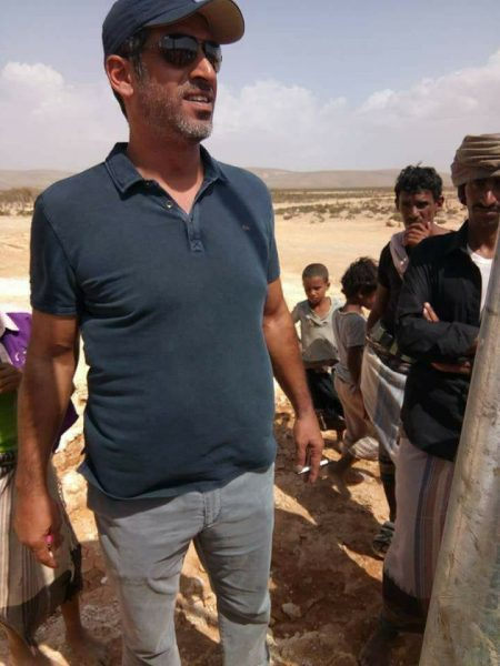 شاهد صورة حديثة للحاكم الفعلي لأرخبيل سقطرى (الاماراتي خلفان المزروعي)