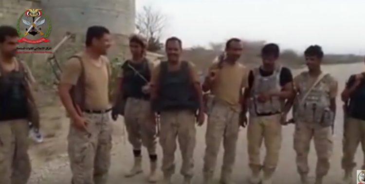 قوات الجيش الوطني تنشر أول فيديو من داخل معسكر الكمب في منطقة الملاحيظ بصعدة