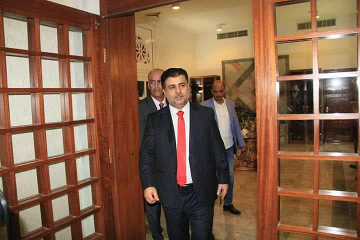 يمنيون في مصر يشكرون الشيخ احمد صالح العيسي