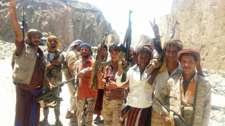 قوات الجيش تسيطر على مواقع جديدة في القبيطة محافظة لحج وتتقدم نحو الراهدة