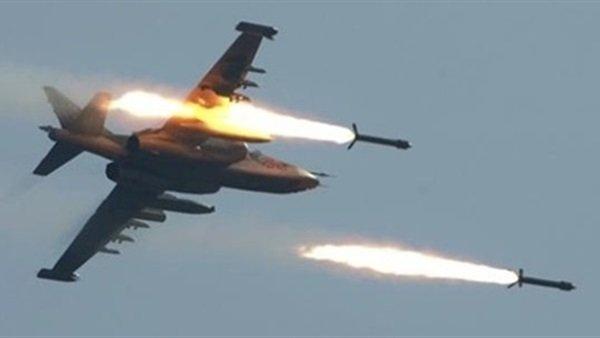 غارات جوية لطيران التحالف تستهدف المليشيات الحوثي في عمران وصعدة