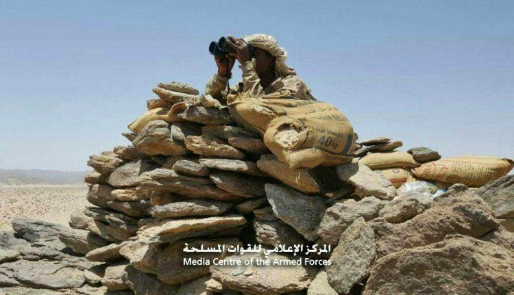 قوات الجيش الوطني تحرر مواقع جديدة في محور علب شمال صعدة