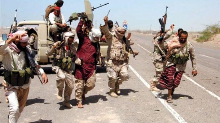 قوات الجيش الوطني تطلق عملية عسكرية لتحرير منطقة البرح غربي تعز